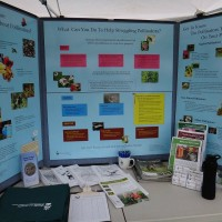 The CCSWCD pollinator display